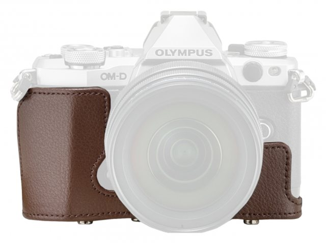Olympus Olympus CS-46FBC Brown Body Jacket with front case for E-M5 Mark II