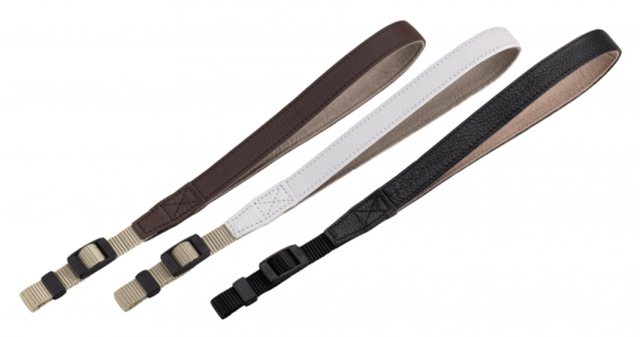 Olympus Olympus CSS-S110 LS Leather Hand Strap, black