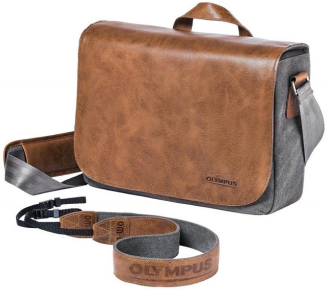 Olympus Olympus OM-D Leather Messenger Bag