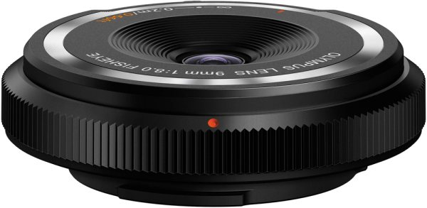 Olympus Olympus Body Cap Lens 9mm F8 fisheye, black