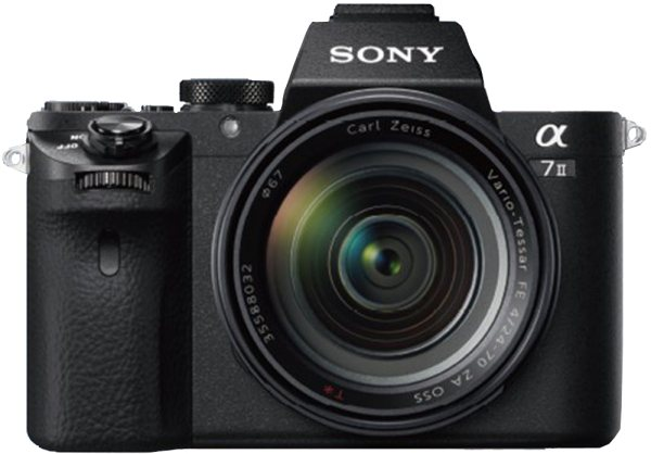 Sony Sony Alpha 7 MkII with Zeiss 24-70mm F4 lens