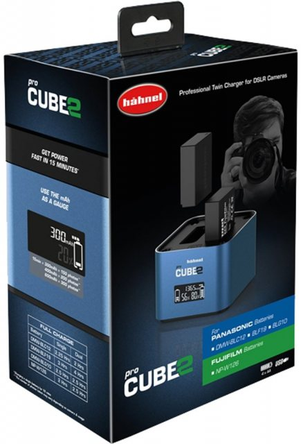 Hahnel Hahnel proCube 2 Charger Panasonic/Fuji