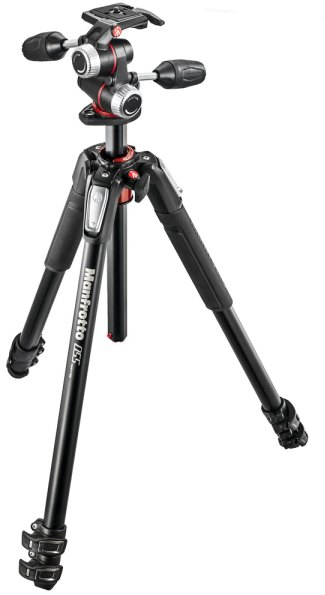 Manfrotto Manfrotto MK055XPRO3-3W 3 Section Aluminium Tripod with MHXPRO-3W 3-Way Head