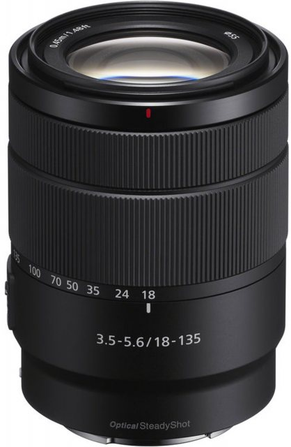 Sony Sony E 18-135mm F3.5-5.6 OSS , Black