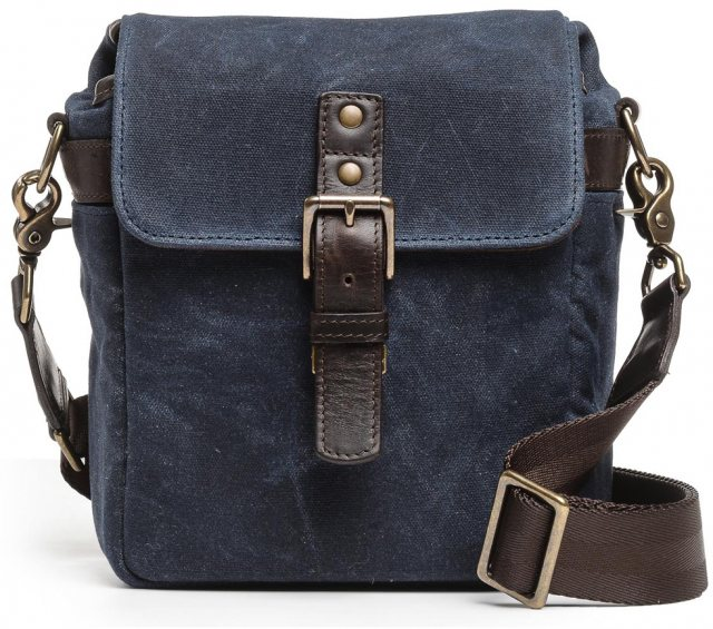 Ona Ona Bond Street Oxford Blue, Waxed Canvas