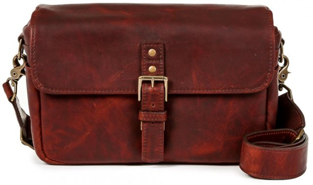 Ona Ona Bowery Messenger Bag, Bordeaux Leather