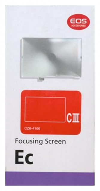 Canon Canon Focusing Screen EC-CIII