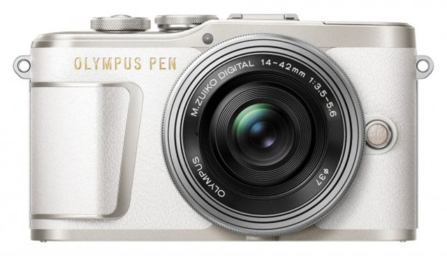 Olympus Olympus PEN E-PL9 Camera with 14-42 EZ lens, white