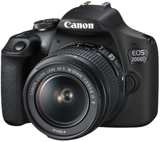 Canon Canon EOS 2000D Camera with 18-55mm IS II lens