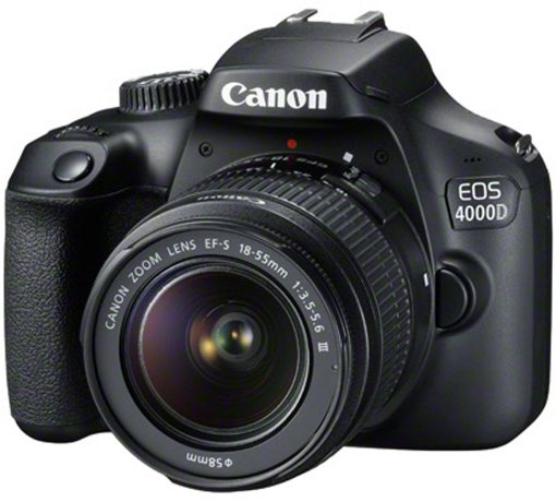 Canon Canon EOS 4000D Camera with 18-55mm III lens