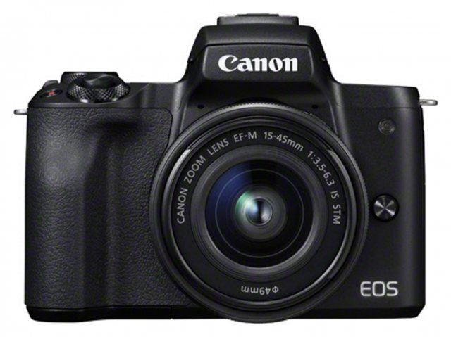 Canon Canon EOS M50 Camera with 15-45mm lens, Black