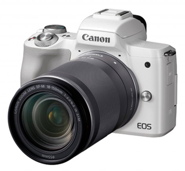 Canon Canon EOS M50 Camera with 18-150mm lens, White