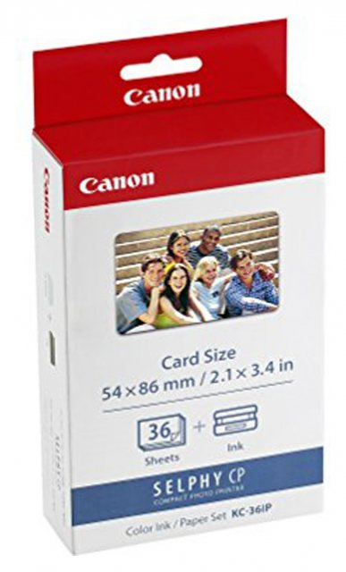 Canon Canon KC-36IP Print Cartridge, Business Cards, 36 sheets