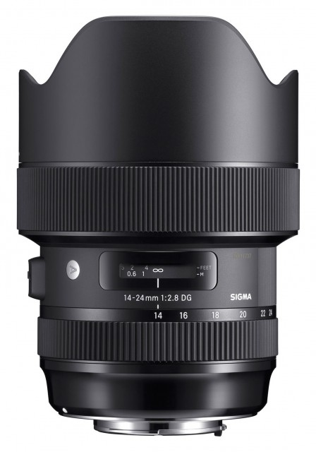 Sigma Sigma 14-24mm f2.8 DG HSM Art lens for Canon EOS