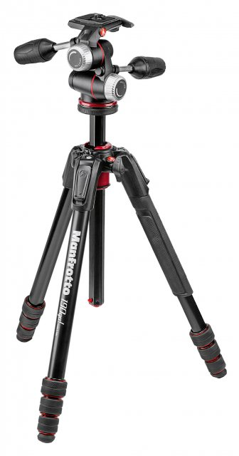 Manfrotto Manfrotto 190go! Aluminum 4-Section M-Lock Tripod with MHXPRO 3-Way Head