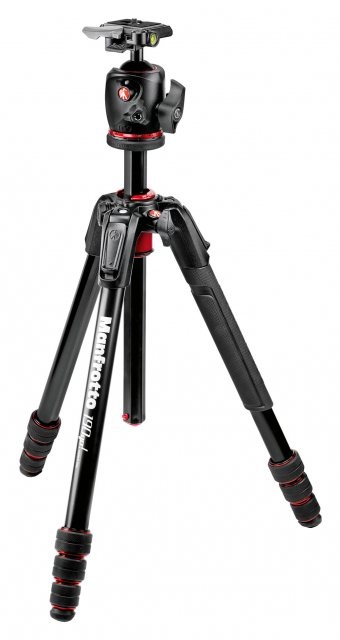 Manfrotto Manfrotto 190go! Aluminum 4-Section M-Lock Tripod with BHQ2 Ball Head
