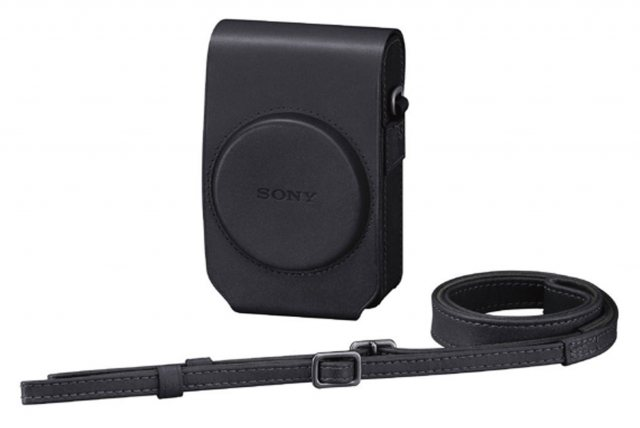 Sony Sony LCS-RXG Soft Black Leather Case for RX100 series cameras