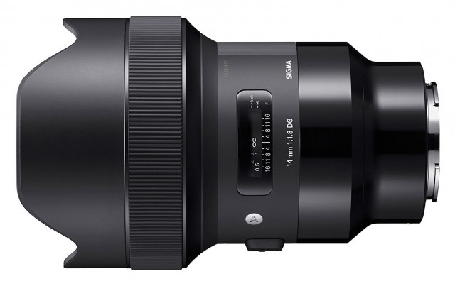Sigma Sigma 14mm F1.8 DG HSM ART lens for Sony FE