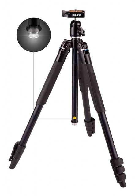Slik Slik Lite AL-420 Tripod with SBH-100DQA Ball head