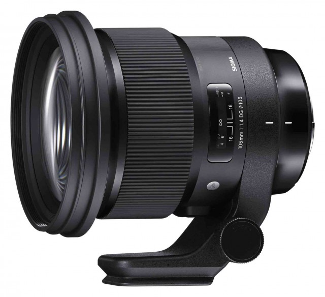 Sigma Sigma 105mm f1.4 DG HSM ART lens for Canon