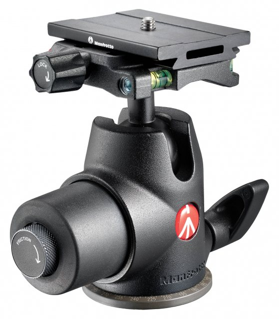 Manfrotto Manfrotto Hydrostatic Ball Head with Top Lock Quick Release