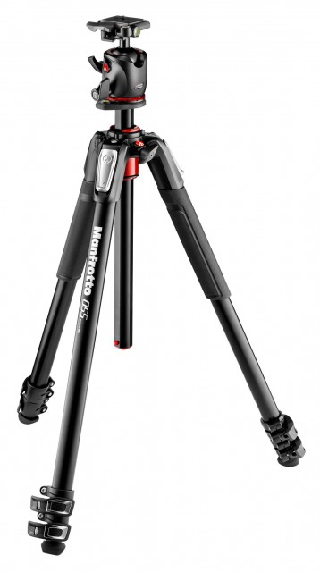 Manfrotto Manfrotto MK055XPRO3-BHQ2 Aluminium Tripod with XPRO Ball Head and plate