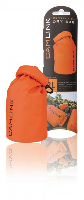 Camlink Camlink Outdoor Dry Bag Orange/Black 2 l