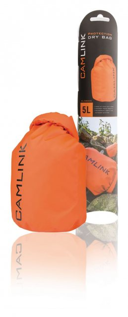 Camlink Camlink Outdoor Dry Bag Orange/Black 5 l
