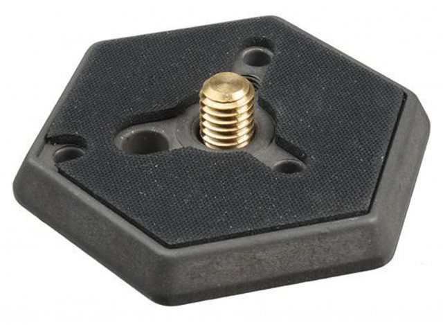Manfrotto Manfrotto 030-38 Hexagonal 3/8in Plate for 029 Head