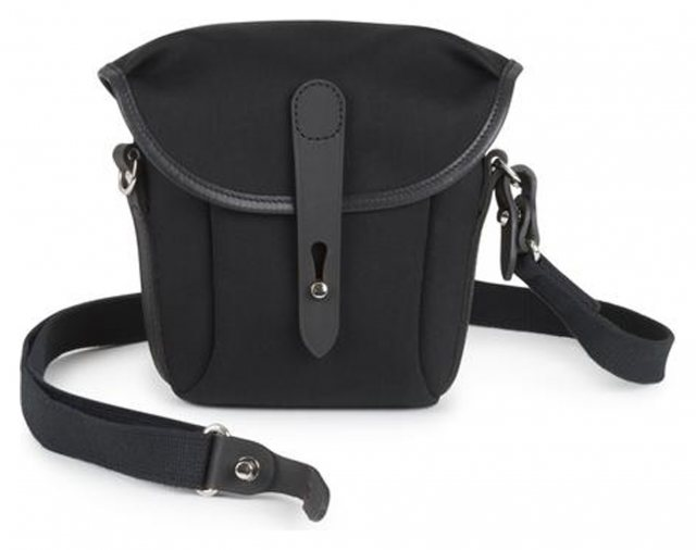 Billingham Billingham Galbin 8, Black Canvas/Black trim