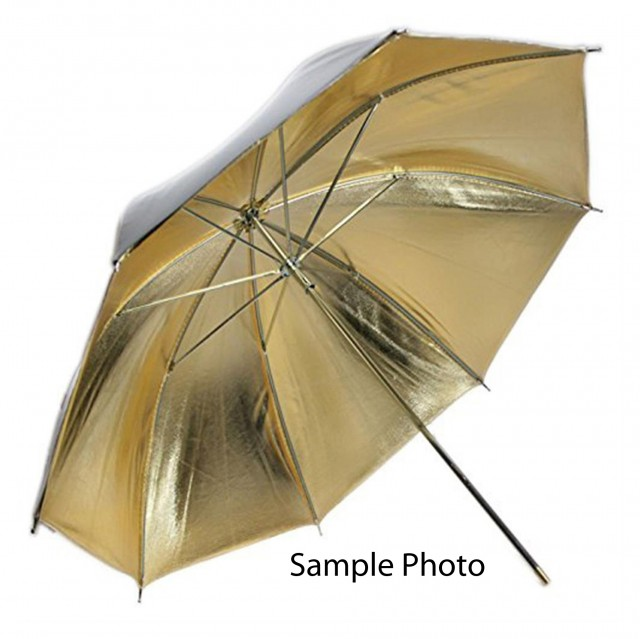 Sundry Kenro 32in Umbrella, Gold