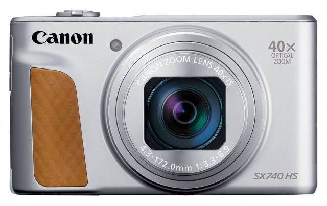 Canon Canon PowerShot SX740 HS Digital Camera, Silver