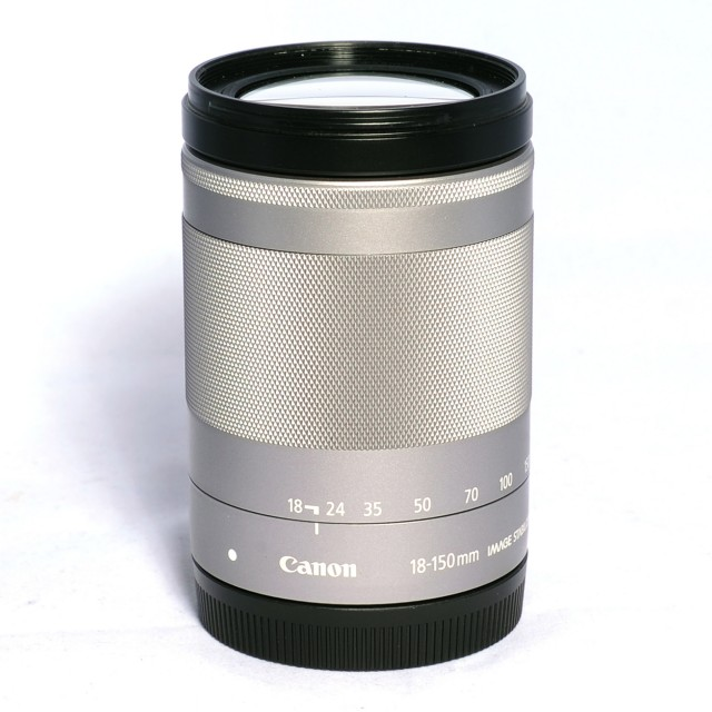 Canon Used Canon EF-M 18-150mm f3.5-6.3 IS STM, silver