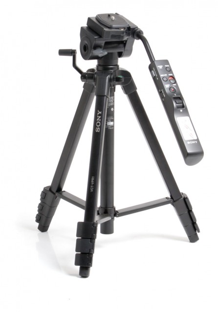 Sony Used Sony VCT-VPR1 Tripod with Remote Control