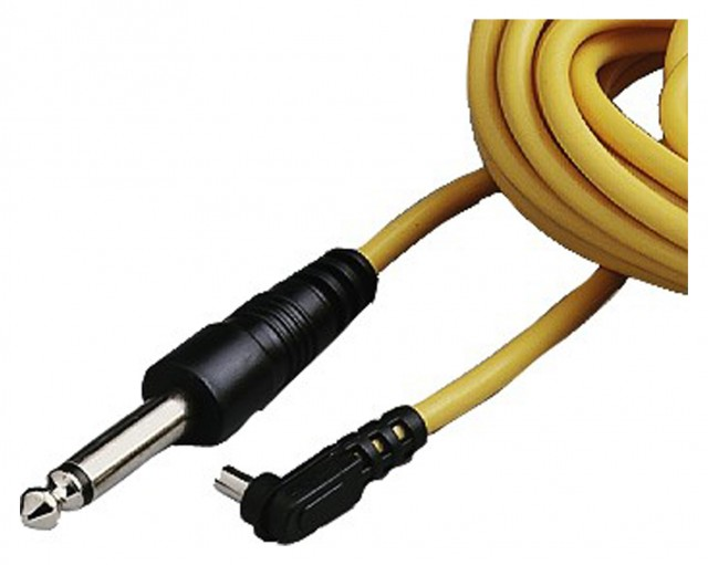 Hama Hama Lead, PC- 1/4 jack, yellow, 5m