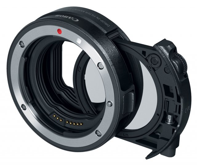 Canon Canon Drop-In Filter Mount Adapter EF-EOS R with Circular Polarizing Filter A