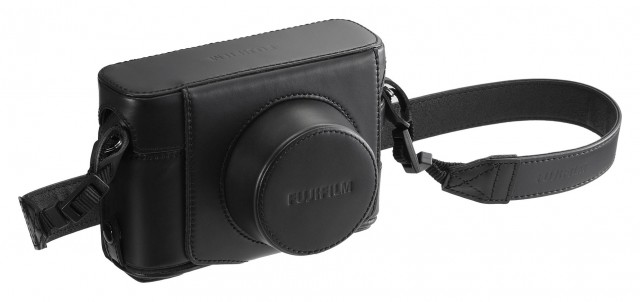 Fujifilm Fujifilm BLC-X100F Premium Leather Case Black