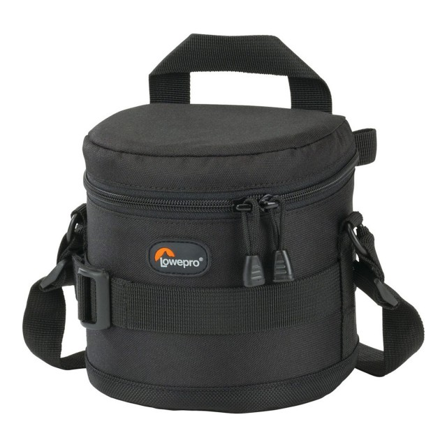 Lowepro Lowepro Black Lens Case 7 x 8cm