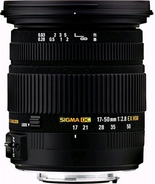 Sigma Sigma 17- 50mm f2.8 EX DC OS HSM for Canon EOS