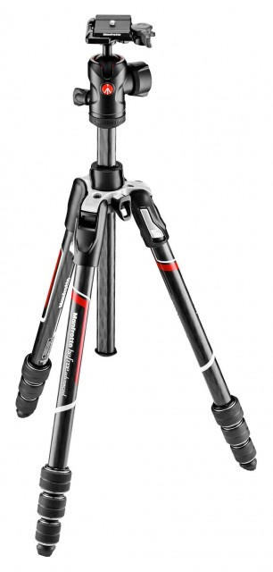 Manfrotto Manfrotto Befree Twist lock Carbon Fibre Tripod Kit, ball head