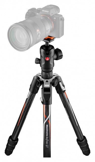 Manfrotto Manfrotto Befree GT Carbon Alpha Travel Tripod with Ball Head