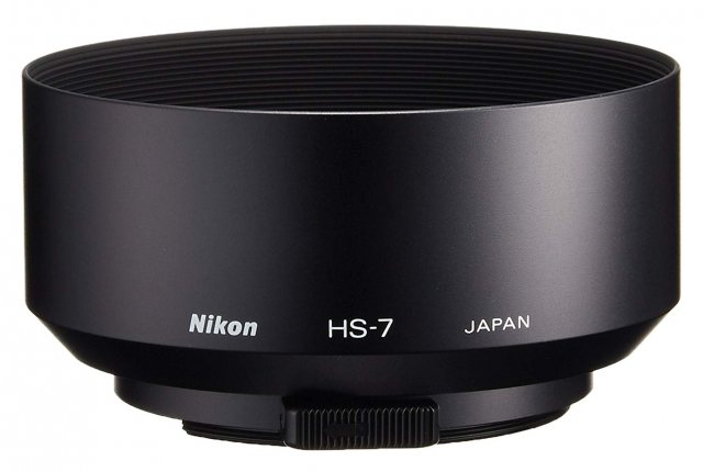 Nikon Nikon HS- 7 52MM Snap-on Lens Hood for 58/1.2, AF105