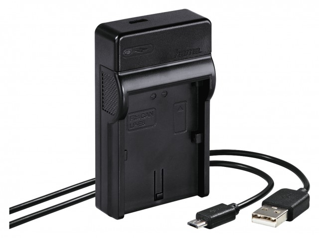 Hama Hama Travel USB Charger for Canon LP-E6