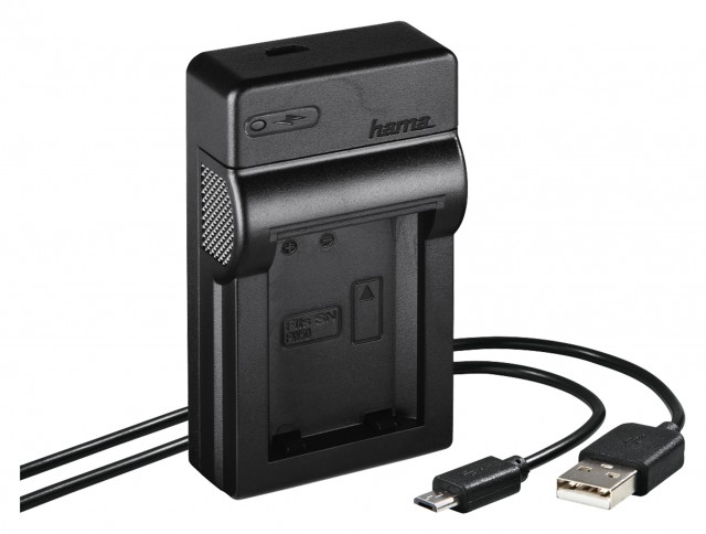 Hama Hama Travel USB Charger for Sony NP-FW50