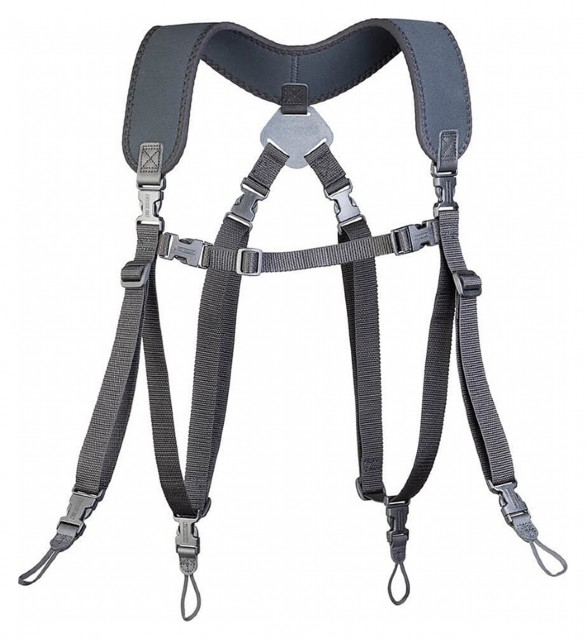 OpTech OpTech Dual Harness Uni-Loop XL, Black