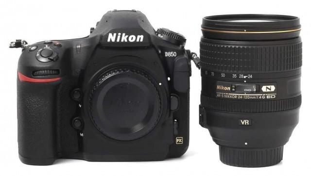 Nikon D850, 24-120 f4 Kit