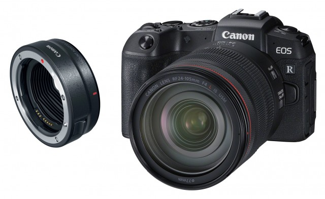 Canon Canon EOS RP, 24-105 with Adapter EF-EOS R