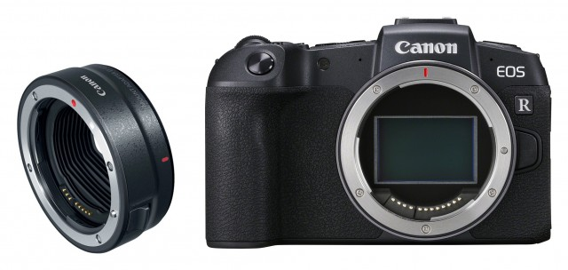 Canon Canon EOS RP Body with EF lens Adapter, Pre order Deposit