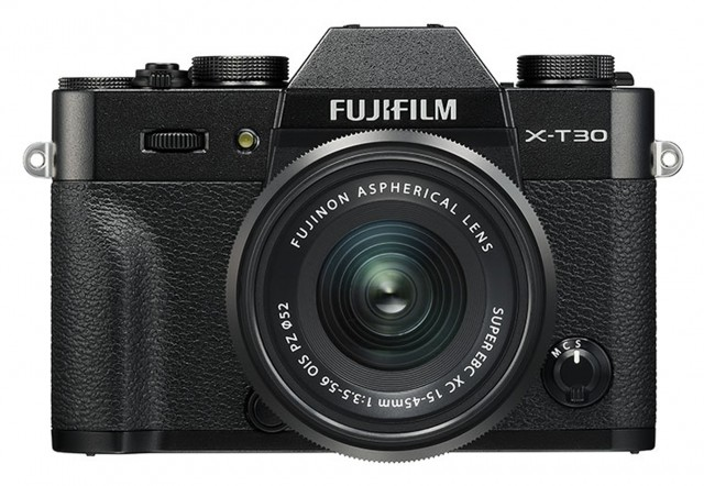 Fujifilm Fujifilm X-T30 with XC15-45mm lens, Black