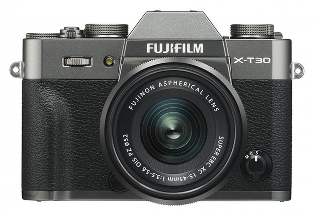 Fujifilm Fujifilm X-T30 with XC15-45mm lens, Charcoal Silver